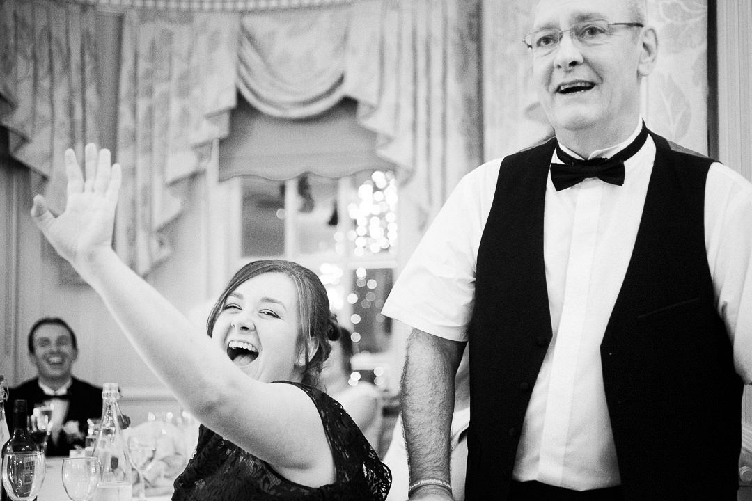 Dad's wedding speech at De Courceys Manor, Cardiff